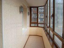 Отделка балкона в Белово. Отделка лоджии